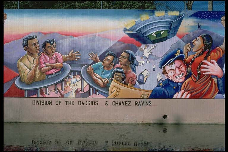 Los ngeles murals for Chicano mural art